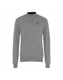 Jumper1/2 zip, Logo Okarit